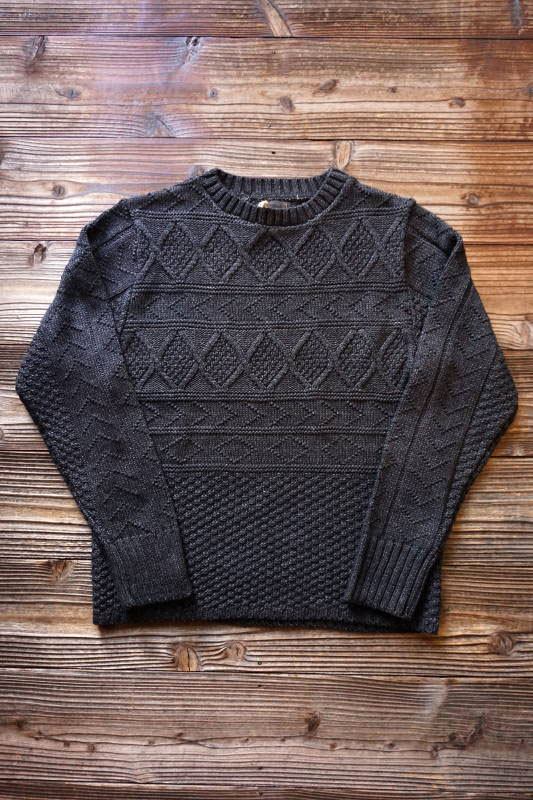 BY GLAD HAND ISLANDS - CREWNECK BLACK