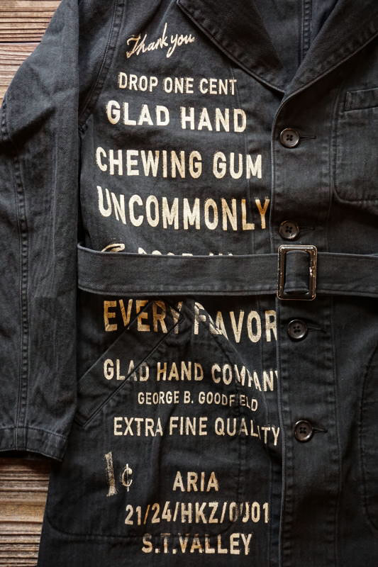 BY GLAD HAND GLAD CHEWING GUM - COAT LONG BLACK