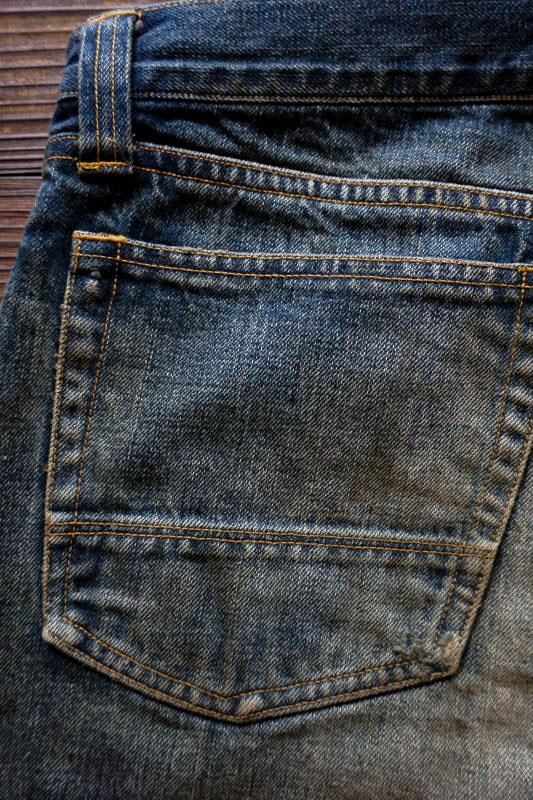 OLD CROW OLD RODDER - DENIM  PANTS USED