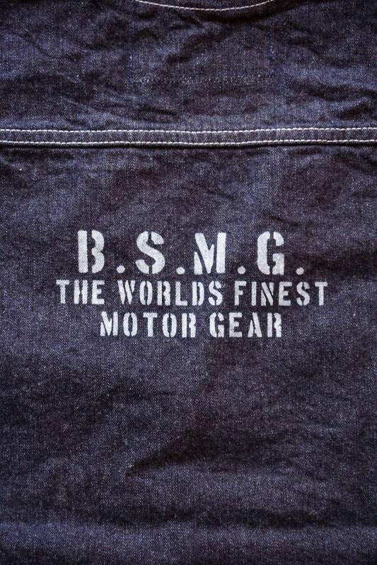 B.S.M.G. WORK - VEST INDIGO