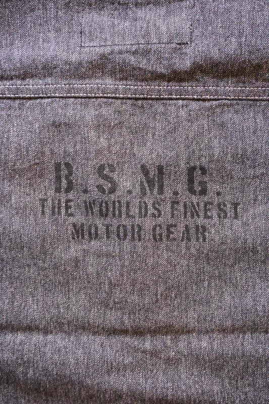 B.S.M.G. WORK - VEST BLACK