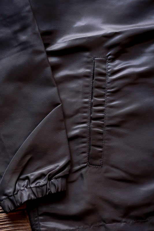 GANGSTERVILLE POISON - COACH JACKET BLACK