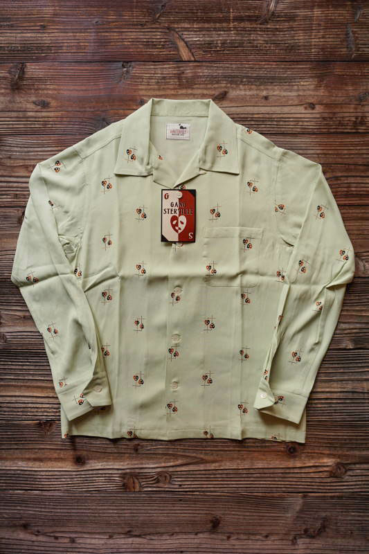 GANGSTERVILLE COMEDY TRAGEDY - L/S SHIRTS GREEN
