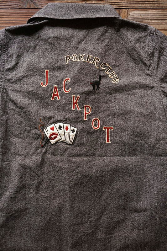 GANGSTERVILLE JACKPOT - COVERALL BLACK