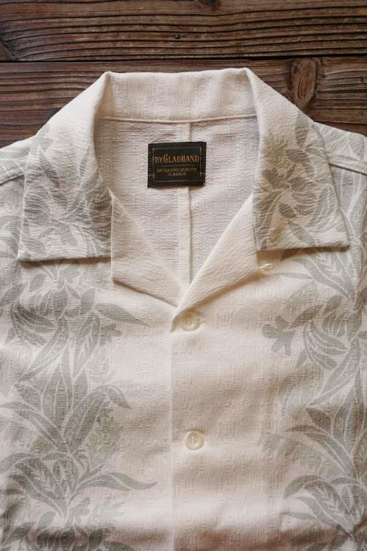BY GLAD HAND TROPICAL - S/S SHIRTS WHITE