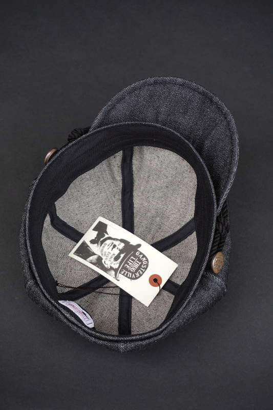 GANGSTERVILLE THUG - MOTORCYCLE CAP BLACK