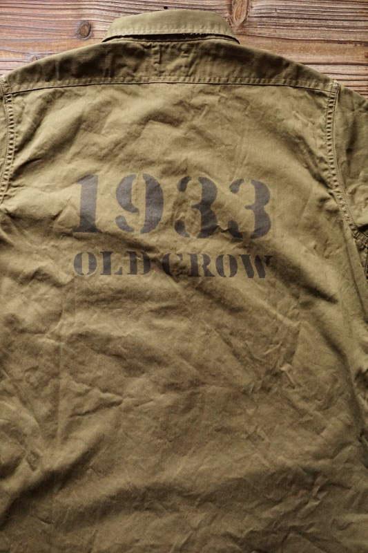 OLD CROW 1933 - S/S SHIRTS KHAKI