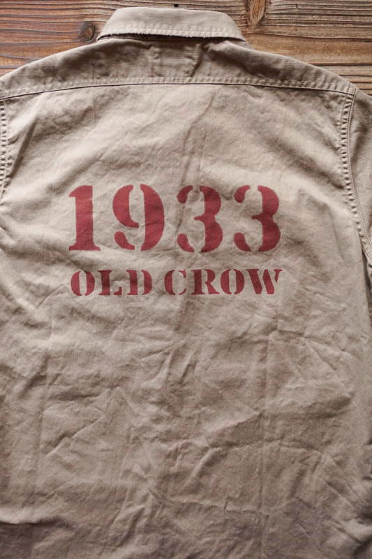 OLD CROW 1933 - S/S SHIRTS GRAY