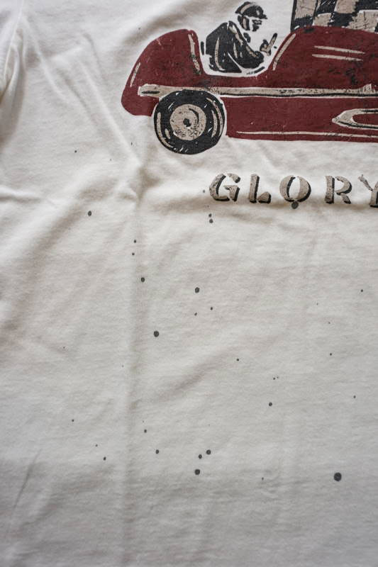 OLD CROW GLORY - S/S T-SHIRTS WHITE