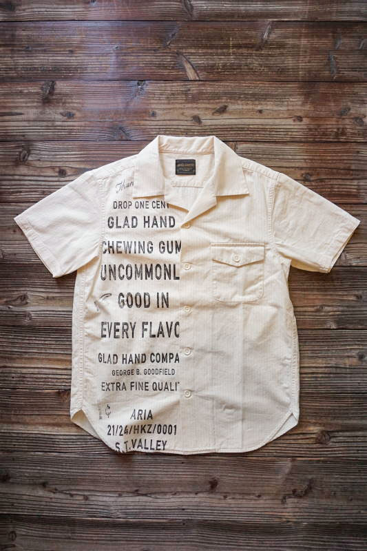 BY GLAD HAND GLAD CHEWING GUM - S/S SHIRTS IVORY