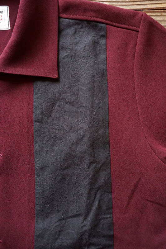 GANGSTERVILLE GIN MILL - S/S SHIRTS BURGUNDY