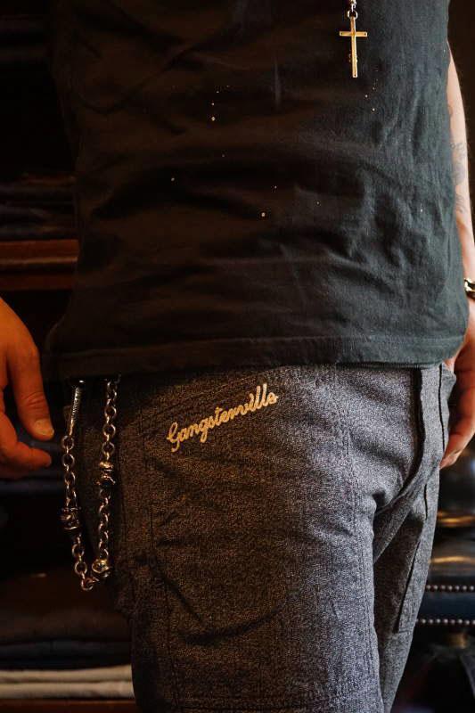 GANGSTERVILLE JACKPOT - SHORTS BLACK