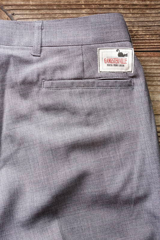 GANGSTERVILLE THUG - PANTS GRAY