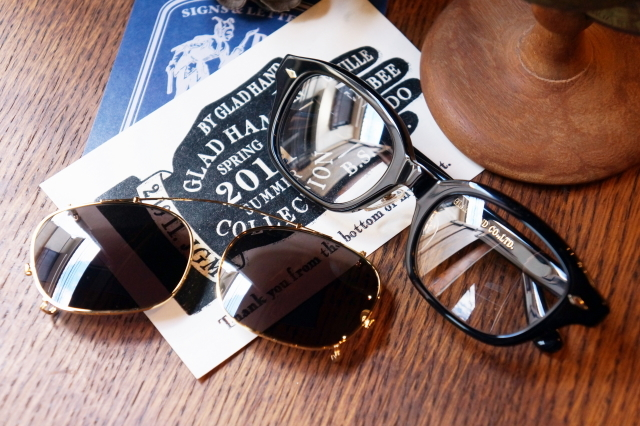 GLAD HAND×丹羽雅彦 J-IMMY & CLIP ON GLASSES